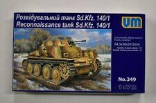 Lot 11-327 * UM 1:72 Scale kit No. 349, Reconnaissance tank Sd.kfz. 140/1