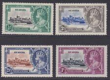 St Lucia MINT GV 1935 Silver Jubilee set sg109-112 MNH