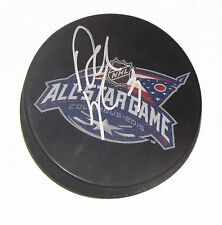 DUSTIN BYFUGLIEN Signed 2015 NHL ALL-STAR GAME HOCKEY PUCK! JETS AUTO 1005382