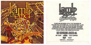 LAMB OF GOD Killadelphia Ltd Ed RARE Discontinued Sticker +FREE Metal Stickers!