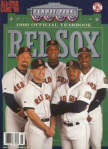 Boston Red Sox--Garciaparra--Martinez--Saberhagen--1999 Yearbook