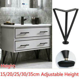 Furniture Cabinet Table Leg Hairpin Feet Adjustable Height Sofa Foot Legs
