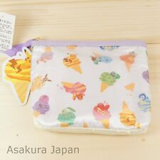 Pokemon POKEMIKKE Second Tissue pouch case Pikachu Eevee Piplup Slowbro
