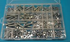 M6 - M12 Assorted Fasteners Pack 540pc - mixed kit of bolts, nuts & washers