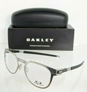 Brand New Authentic Oakley Eyeglasses OX3229 0350 Satin Chrome Titanium 3229
