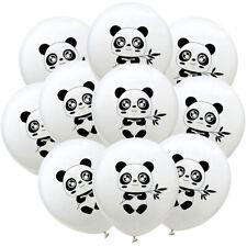 10pcs Panda Balloons Latex Balloon Baby Shower Birthday Party DecoratioR_sh