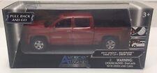2017 Chevy Silverado Z71 Pickup Truck Diecast Model - Motomax - Red
