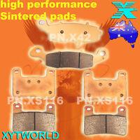 FRONT REAR Brake Pads for SUZUKI M 1800 VZR 1800 2007-2009 2010 2011 2012 2013