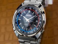 Seiko Navigator Timer GMT Ref 6117 6419 Vintage Automatic Japan Made Watch  010