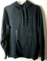 **MINOR DEFECT*Under Armour Men's Rival Fleece Pullover Hoodie,Black001/Black,L