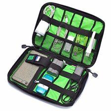 Portable Digital Accessories Cable Storage Pouch Case Travel Organizer Bag