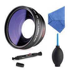 58MM 0.45X HD Weitwinkel Objektiv Fischaugen Macro für Canon Nikon K&F Concept