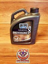 Belray Bel Ray EXL Mineral 4T Engine Oil 10w-40 4L Motorcycle ATV 99090-B4LW
