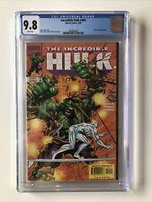 Incredible Hulk #464 CGC 9.8 Peter David 1998 Adam Kubert SILVER SURFER