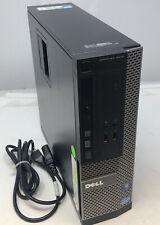 Dell OptiPlex 3010 small PC, i5-3470, 3.2GHz, 8GB RAM, 500GB HDD, DVDRW, Win10P
