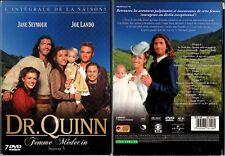 DR QUINN - DOCTEUR QUINN - Saison 5 - Coffret 4 Boîtiers Slim - 7 DVD -OCCASION