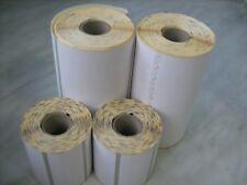 4pcs (2+2) Zebra Z-Perform 1000D Thermal Label Permanent Adhesive QL220 QLn420