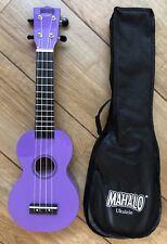 Mahalo Rainbow Purple Ukulele With Aquila Strings