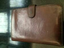 Cellini leather wallet, medium size, GUC, Tan Leather