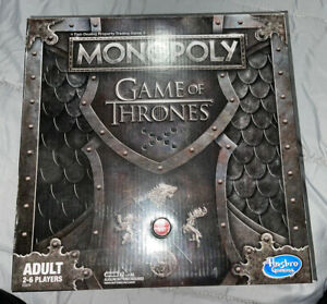 Board Game Game of Thrones Monopoly throne and stand that plays theme song