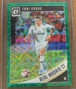 2018-19 Donruss Optic Real Madrid Toni Kroos Aqua Holo Prizm 75/149