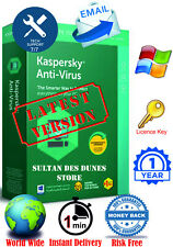 Kaspersky Anti-Virus Security 1 PC/1 Year - 2020 - Global - Instant Delivery