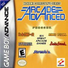 Konami Collector's Series Arcade Advanced -Game Boy Gba