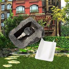 Creative Outdoor Spare House Safe Hidden Security Rock Stone Case for Key Hide