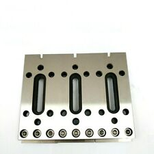 1x Wire Edm Fixture Board Stainless Jig Tool For Clamping And Level 120x100x15mm