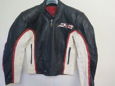 """Giacca IN PELLE DAINESE VINTAGE CAFE RACER Moto Giacca Biker S 36"""" EURO 46"""