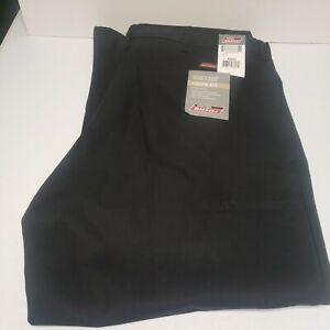 Dickies Flex Double-Knee Work Pants Loose Fit 42x32 Black New 42 x 32 7118738BK
