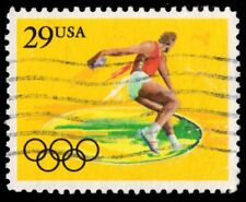"""UNITED STATES 2554 - Barcelona Olympics """"Discus Thrower"""" (pa50903)"""