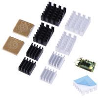 5Pcs For Raspberry Pi 2/3/4 3B+ 4B Aluminum Heatsink Radiator Cooler  kiFFB