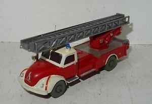 A609 Wiking Magirus Feuerwehr Drehleiter Eigenbau von Modellbauer 1:87
