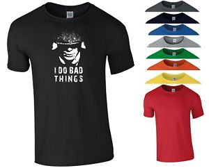Peaky Blinders T Shirt I Do Bad Things Shelby Brothers Birthday Gift Men Tee Top