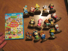 ANIMAL CROSSING AMIIBO FESTIVAL + LOT ALMOST COMPLETE 15 OF 16 TIMMY TOMMY READ
