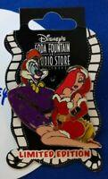 Disney Studio Christmas Lightbulb Santa ROGER & JESSICA Rabbit LE150 Pin DSF HTF