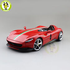 1/18 Ferrari MONZA SP1 Bburago 16909 Diecast Model Racing Cars Toys Gifts Red