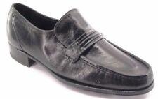 New FLORSHEIM Men Blk Leather Moccasin Comfort Slip On Loafer Dress Shoe Sz 9 D