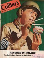 1943 Colliers October 30 Sarge and the chopsticks; WACs; Fascism in Argentina