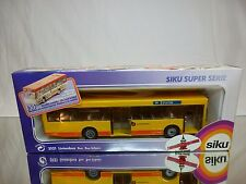 SIKU 3121 BUS - STATION WEST NEDERLAND - YELLOW 1:55 - EXCELLENT IN BOX