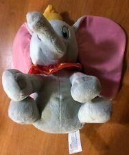 "Dumbo Elephant Disney Stuffed Plush 12"" Yellow Hat Kohl's Cares"