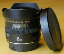 canon EF 15mm f/2.8 fisheye lens, very good condition