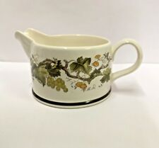 Wedgwood VINE (Oven to Table) Creamerl NICE More Items Available