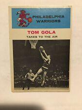 1961 FLEER BASKETBALL #51 TOM GOLA IA  (PHILA. WARRIORS) - L@@K