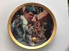 Babe Ruth-The Sultan of Swat-Franklin Mint Commemorative Plate