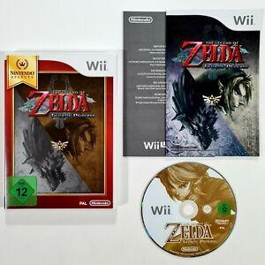 Nintendo Wii Spiel THE LEGEND OF ZELDA - TWILIGHT PRINCESS dt. Action Adventure