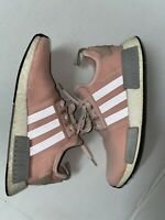 ADIDAS NMD R1 VAPOUR PINK LIGHT ONIX RUNNING SHOES WOMEN'S SIZE WOMEN 9.5 BY3059