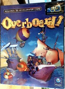 Overboard 3D PCCD Rom Retro Vintage classic