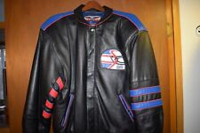 Nigel Mansell Commemorative Leather Jacket - Signed - Newman Haas Racing - Sz L
